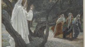 Jesus e os que não contavam com a ressurreição
