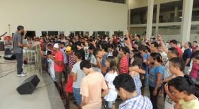 Louvor, pregações e competições esportivas movimentam segundo dia do CONJUFE