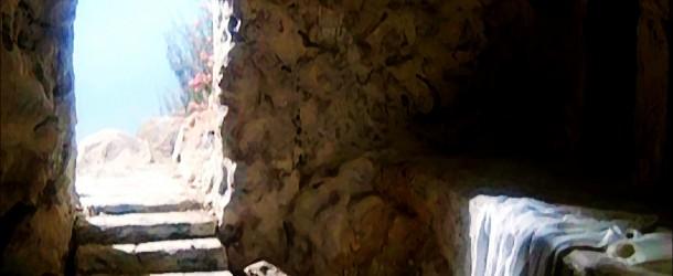Jesus sozinho na ressurreição